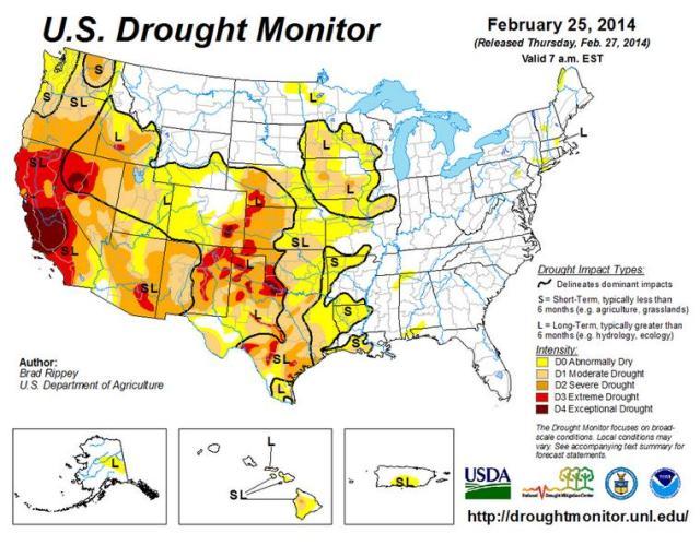 Cali_Drought_Map