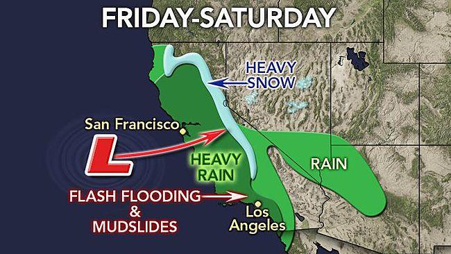 2014 California Rainfall Predictions