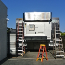 semi-truck, vehicle, transportation, commercial, hvac, air conditioning