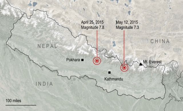 nepal, china, india, earthquake, natural disaster, magnitude