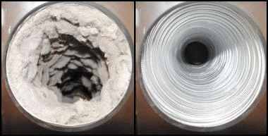 Dryer Vent - Dirty